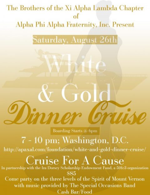 Permalink to: White and Gold Dinner Cruise